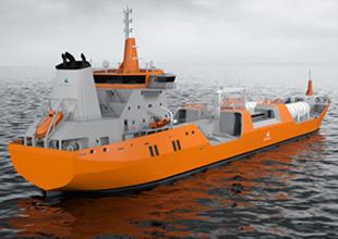 Wartsila, yeni tanker tasarımını SSM fuarında tanıtıma sundu