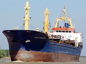 Türk bayraklı M/V ERCAN NAİBOĞLU, Köstence Limanı'nda tutuklandı