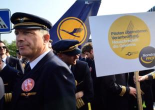 Lufthansa pilotları yarın 'grev' yapacak