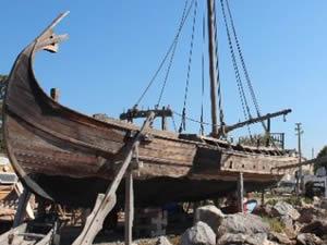 Denizaltından su yüzüne çıkarılan tarihi miras