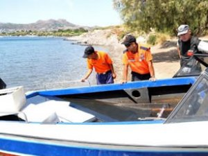 Yunan adalarına kaçak giriş noktası tespit edildi