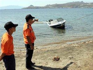 Bodrum'da kaçakların denize açıldığı nokta bulundu