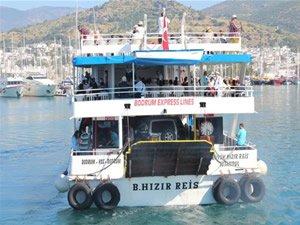 Büyük Hızır Reis feribotuna Yunanistan el koydu