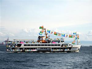 Şehir Hatları Vapuru'nda Japon rüzgarı esecek