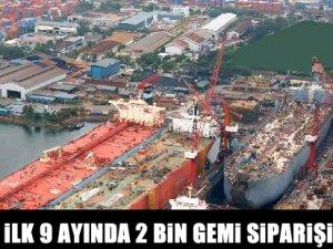 2 bin 143 gemi siparişi verildi!