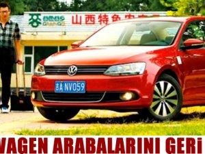 Volkswagen arabalarını geri çekti!
