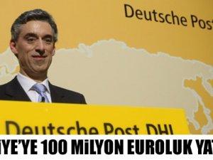 Türkiye'ye 100 milyon euroluk yatırım