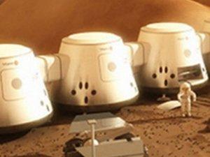 Mars'ta 68 gün yaşam olacak