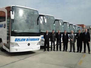 Özlem Diyarbakır 10 adet Mercedes-Benz Travego satın aldı
