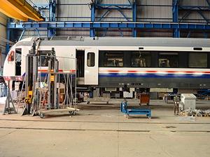 Irak'ın yeni tren setleri Türkiye'den
