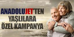 Emeklilere özel uçak bileti kampanyası AnadoluJet'ten