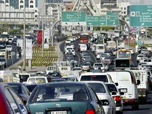 Dubai'de trafiğe ilginç çözüm