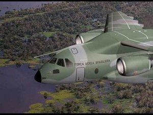 Embraer şirketi askeri kargo uçağı üretti