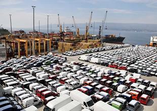"""Otomotivin ekim ihracatı """"parite kurbanı"""" oldu"""