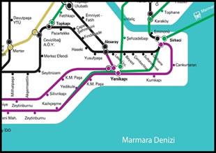 Aksaray-Yenikapı metrosu açıldı