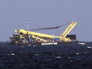 Görünmez kaza! Bahamalar'da uçak geminin üzerine düştü