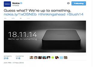 Nokia Yeni Cihazla Geliyor