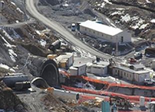 Ovit Tüneli İçin Çalışmalar Tekrar Başladı