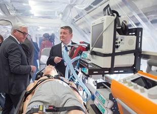 Almanya'dan Tam Donanımlı Ebola Uçağı!