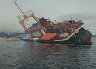 Bandırma'da Gemi Söküm İşçisi Ağır Yaralandı