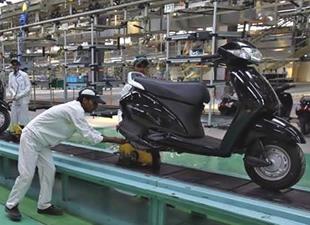 300 Milyonuncu Honda Motorsikleti Yola Çıktı