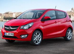 İşte Yeni Opel Karl'ın İlk Görüntüleri
