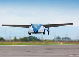 Uçan Araba Hayali Gerçek Oldu!