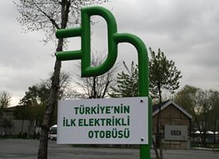 "Elektrikli Otobüs ""Doruk"" Kampüste!"