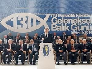 İTÜ Denizcilik Fakültesi 130. Geleneksel Balık Günü Tuzla'da yapıldı