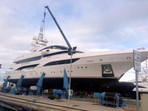 İtalyan Benetti FB 255 Formosa'yı Denize İndirdi