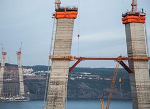 3. Köprünün Betonları 100 Yıl Dayanacak