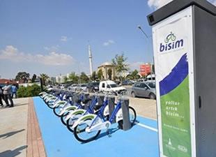 İzmir'de bisiklet toplu ulaşıma entegre