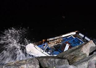 İstanbul'da tekne kazası