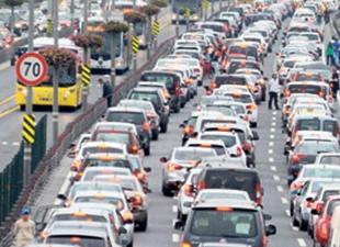 Trafiğe kayıtlı araç sayısı 19 milyona yaklaştı