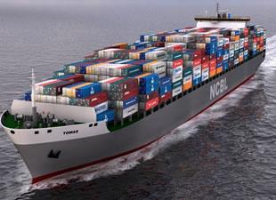 Konteyner ve gemilere çipli takip