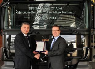UPS filosunu Mercedes-Benz'le genişletti