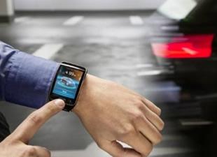 BMW'den akıllı saatle park teknolojisi