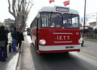 Transist 2014 'te nostaljik otobüsler görücüye çıkıyor