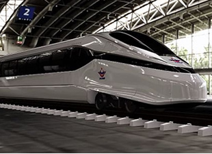 Milli hızlı tren Eskişehir'de test edilecek
