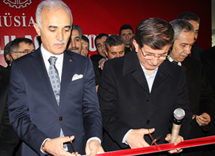 MÜSİAD Bolu Şubesinin açılışı Başbakan Ahmet Davutoğlu gerçekleştirdi