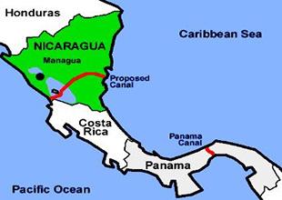 Panama Kanalı'na alternatif olacak