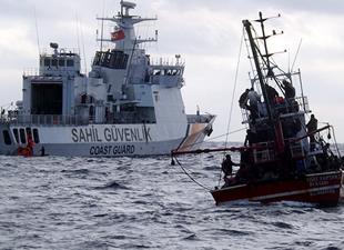 Denizde dehşet: 131 kişi son anda kurtarıldı!
