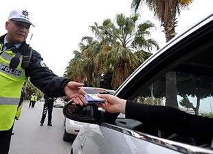 Günde 8 bin sürücüye ceza kesildi