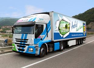 Lidl'ın doğal gazlı kamyon tercihi Iveco oldu