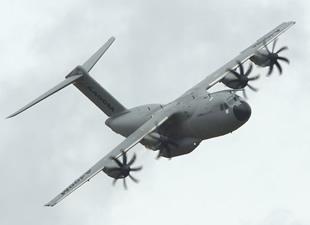 A400M transatlantik görevini tamamladı