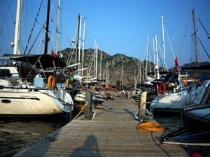 Marmaris'teki iskeleler 19 Ocak'ta ihale usulü kiraya verilecek