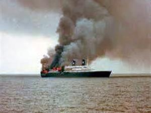 Kosta Rika açıklarında yolcu gemisinde yangın: 2 ölü