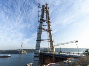 Üçüncü köprünün halatları hazır
