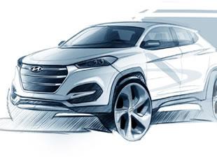 Hyundai Tucson çizimlerle çıktı