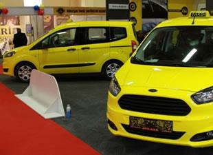 Türkiye'nin ilk taksi fuarı açıldı
